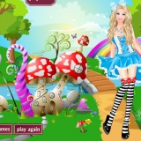 Роскошная девушка - флеш игры для девочек красота