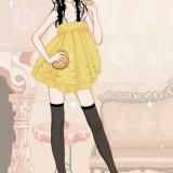 Модная флеш игра одевалка