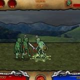 Битвы зомби и рыцарей