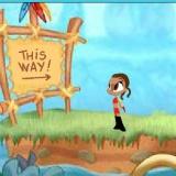 Приключения бродилка флеш игра для девочек